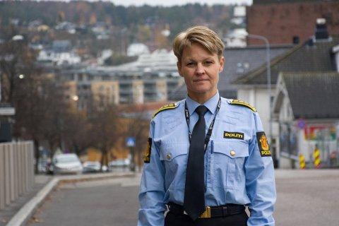 Lena Reif, leder felles enhet for etterretning og etterforskning i Sør-Øst. Foto: Ivar Benjamin Østebø