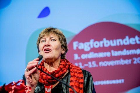 MILLIONER: Mette Nord fra Porsgrunn seiler opp til å bli leder i den europeiske fagforeningssammenslåingen.