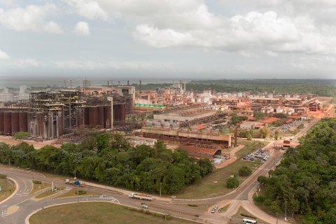 Barcarena, Brasil 20181003. Hydro stenger hele sin produksjon ved Alunorte i Brasil som følge av at brasilianske myndigheter påla dem å halvere produksjonen og stenge sitt nyeste deponi for bauksittrester.