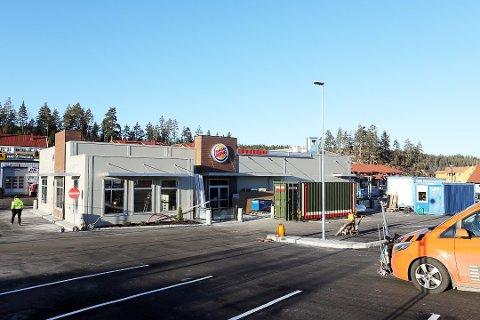 Burger King åpner dørene på Brokelandsheia 7. desember.