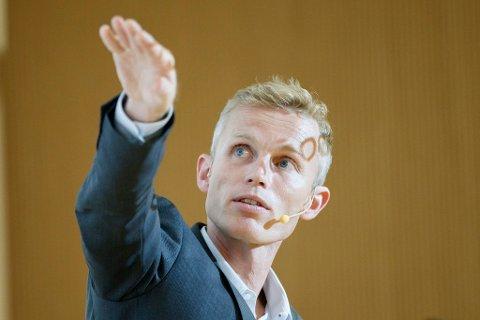 SPÅR LABER VEKST: Andreas Benedictow ser for seg at norske boliger bli mindre verdt i 2022. Cornelius Poppe NTB scanpix