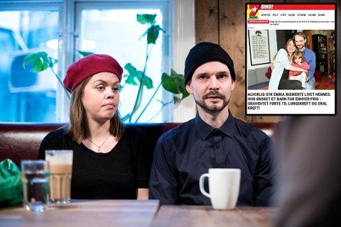 Emma Helen Tveitnes og Christer Birkenes Foto: SKJALG EKELAND