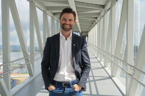 Paul Wegar Ekelund Dørdal er ansatt som ny direktør ved spahotellet i Kragerø. Foto: Vivi Sævik, PD