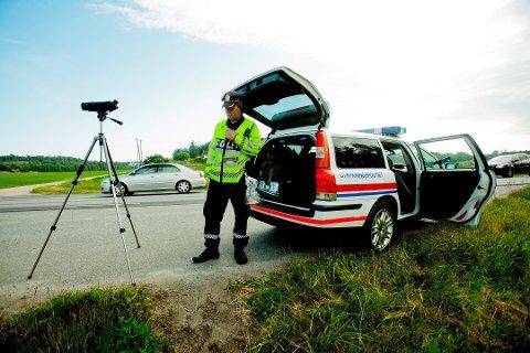 SLIK MISTER DU LAPPEN: Kjører du 76 km/t i 50-sonen, så ryker lappen. Foto: NTB scanpix