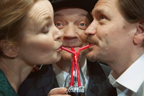 STATSTEATRET: Gard B. Eidsvold og Karoline Krüger spiller i «1950- Spionen».