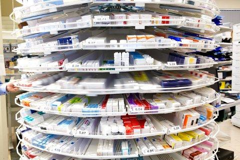 STRAMMET INN: Etter at en bruker kan ha fått i seg 100 tabletter med hjertemedisin, blir tilgangen til medisiner strammet inn.