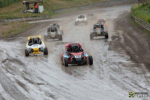 BEST: Thomas Murstad kjørte best i søla i Danmark.