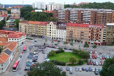 Gøteborg ligger på bilinnbruddstoppen i Sverige. Mye av årsaken ligger i den store gjennomstrømningen av turister på sommeren. Foto: Wikimedia Commons/ANB