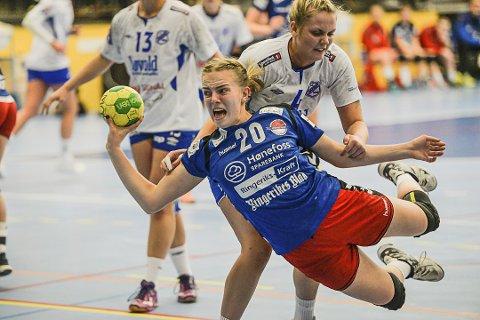 TIL GJERPEN: Hønefoss-spiller Tirill Solumsmoen Mørch.