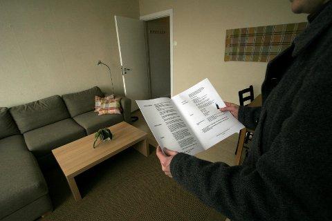 MER RISIKO: Det kan bli et større økonomisk sjansespill å selge bolig.