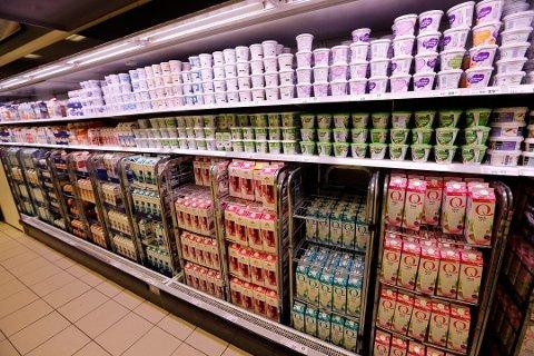 Tørken i Norge og Europa gjør at det kan bli mangel på ulike melkeprodukter. Foto: Lise Åserud, NTB scanpix/ANB