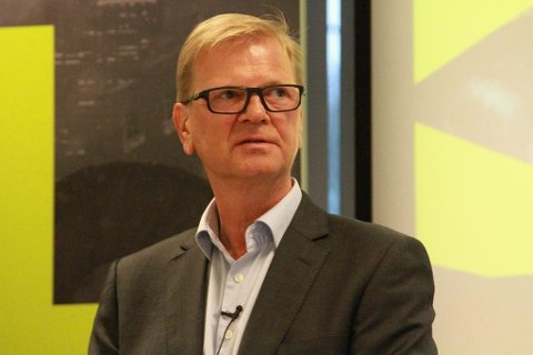 XXL-SJEF: Fredrik Steenbuch i XXL legger frem tall fredag.