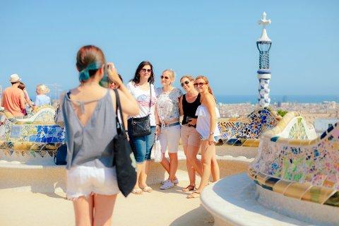 Du kan ikke legge ut feriebildene dine helt uten videre. Det kan være lovbrudd. Foto: Pressebilde/ANB