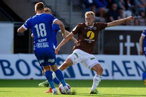BYTTER KLUBB: Jonathan Lindseth kommer til å forlate Mjøndalen i løpet av det neste halvåret. Sarpsborg kan bli neste stopp for porsgrunnsgutten. Foto: Fredrik Hagen / NTB scanpix