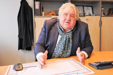 HEMMELIG: Grunderen Hallgeir Skogen reagerer på at hvordan NHO Vestfold og Telemark fordeler plasser til NHOs årskonferanse som avholdes i morgen.