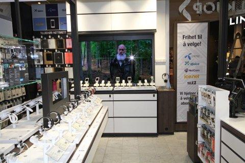 Elkjøps Phonehouse-butikker er navnet på de litt mindre Elkjøp-butikkene som en ofte finner på kjøpsesentre. Foto: (Elkjøp)