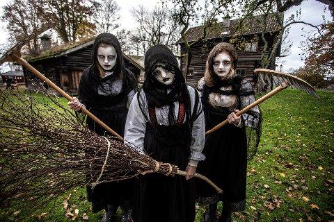 POPULÆRT: Å delta på Halloween-feiringen i Brekkeparken har vært svært populært de siste årene. Men de begrensningene som koronasituasjonen gir, blir det ikke mulighet til å ta i mot så mange som tidligere.