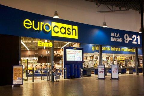 SNABBA CASH: Eurocash tjener gode penger på nordmenn som er sultne på harryhandel. Foto: Eurocash