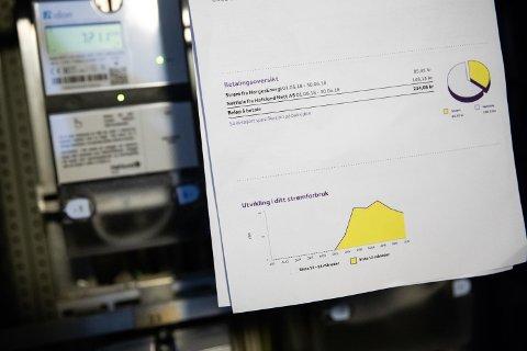 Strømprisene har steget med 30 prosent det seneste året, strømregningen er blitt mye dyrere. Foto: Audun Braastad (NTB scanpix)