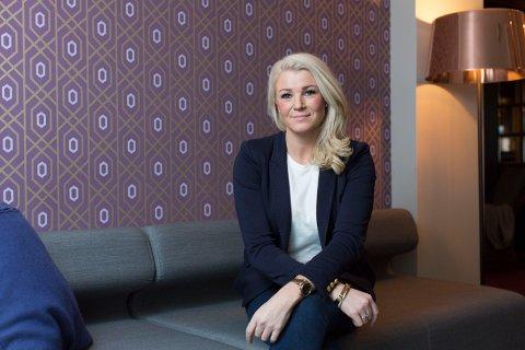 """UTMERKER SEG: Beathe Gundersen ble nylig kåret til """"Telemarks supermegler"""" av Sørmegleren."""