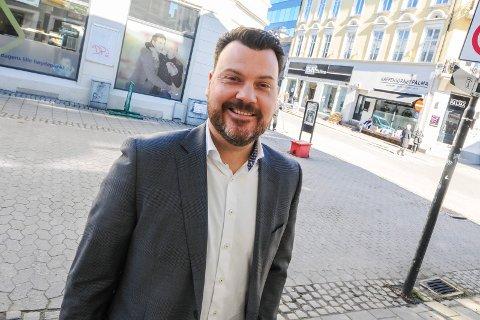 POSITIV: Thomas André Hansen hos Privatmegleren mener boligmarkedet går en positiv tid i møte.