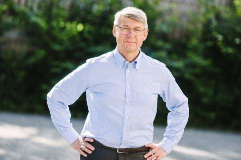 POSITIV: Generalsekretær Morten A. Meyer i Huseiernes landsforbund er i motsetning til Eiendom Norge og NBBL positive til den nye avhendingsloven. Foto: Moment Studio