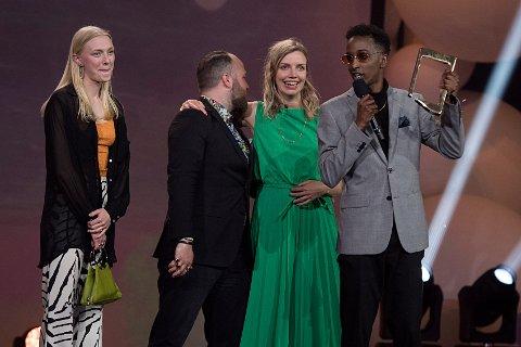 Årets nyskapning,  Kongen av Gulset, Spark for NRK. Foto: Marit Hommedal / NTB scanpix