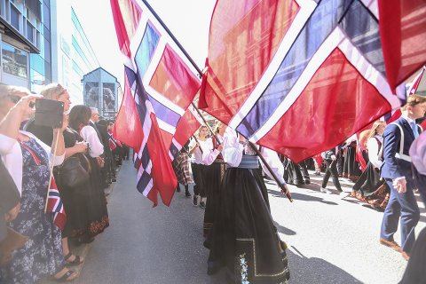 VIL BEVARE 17.MAI PÅ BORGESTAD: Beboere i området rundt Borgestad har startet en underskriftskampanje for å bevare 17. mai-feiringen i nærområdet.