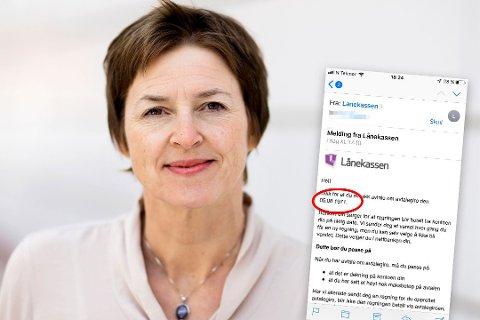 BEKLAGER: Kommunikasjonsdirektør Solbjørg Sørensen sier at e-posten aldri skulle ha blitt sendt. Foto: Kim Ramberghaug / privat