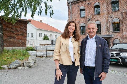 Starter skole: K2 Utdanning utvider fra Sandefjord og Tønsberg i Vestfold til Porsgrunn i Telemark. Hege Tronsaune og Trond Skrede gleder seg til undervisningsstart i august.