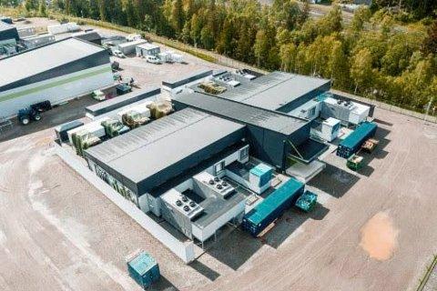 RJUKAN: Det nye datasentret til Volkswagen Gruppen på Rjukan.
