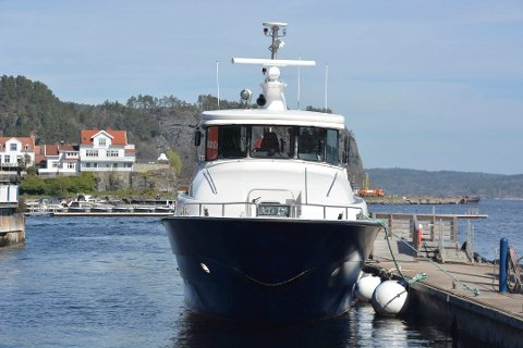 NY FERJERUTE: Den nyoppstartede ferjeturen fra Langesund til Jomfruland og Kragerø har vekket stor interesse.