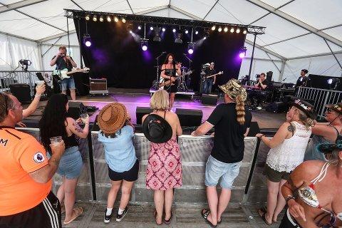 FESTIVAL: Det var under Countryfestivalen i 2013 den angivelige voldtekten skal ha skjedd.