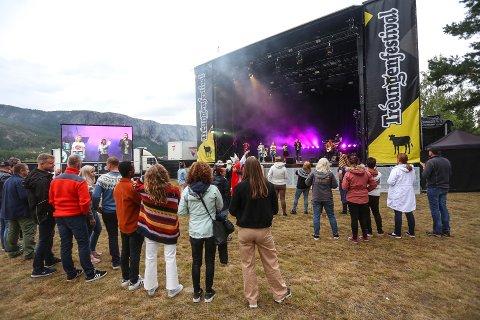 KORONAPENGER: Den tradisjonelle Treungenfestivalen ble avlyst i 2020. Nå har festivalen søkt om koronapenger.