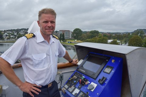 Robert Berulfsen har jobbet om bord på MS Bohus i flere år. Onsdag har han sin siste tur med skipet mellom Sandefjord og Strømstad.