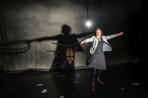 PÅ HJEMMEBANE: Guandaline Sagliocco viser et nytt stykke på hjemmebane i Porsgrunn.