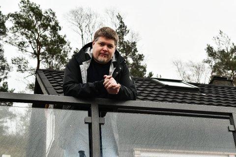 Jan Inge Rogdaberg Merkesdal vant over 14 millioner i Lotto Foto: Håvard Røyrvik