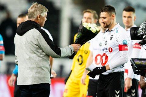 AKTUELL: Elba Rashani skal være aktuell for kypriotisk fotball.  Foto: Trond Reidar Teigen / NTB