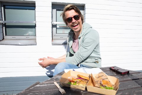 VINNER: Denne burgeren ble testens vinner. Les saken for å finne ut hvilken det er.