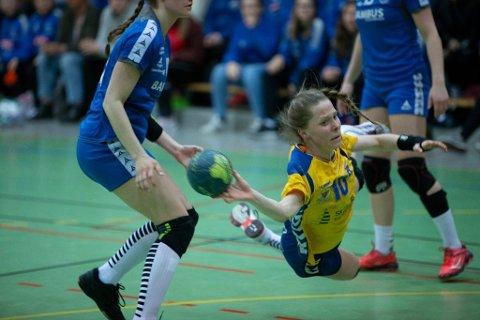 NY: Mathilde Knutsen har signert en 2-års avtale med Gjerpen HK Skien.
