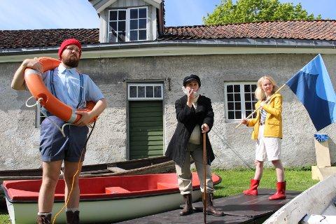 """HUMOR: Regissør Frode Gjærløw har laget forestillingen """"Moby Dick"""" om til en humoristisk forestilling fra hele familien."""