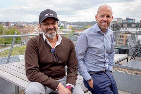 UTLEIE: Wasim Rashid og Emil Eriksrød forteller om deres siste lansering.