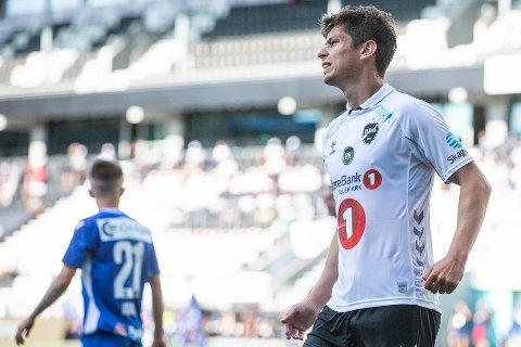 SCORER IGJEN: Han endte på 21 seriemål i fjor og scoret på direkten også i år, men 1-2-tapet for Sandefjord kan ha vært Torgeir Børvens siste kamp for Odd.