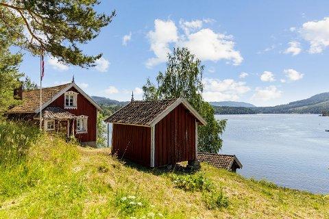 SPENNENDE: Hyttetunet med navnet Bolvik er nylig lagt ut for salg for 1,98 millioner kroner.