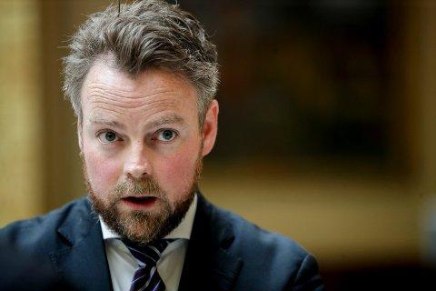 Arbeids- og sosialminister Torbjørn Røe Isaksen leder Høyres innvandringsutvalg som mandag overleverer sin rapport til partiets sentralstyre. Foto: Vidar Ruud / NTB scanpixFoto: (NTB scanpix)