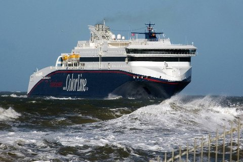 Grete Johanne Schrøen følte seg ikke komfortabel på hennes reise med MS Superspeed II tirsdag.