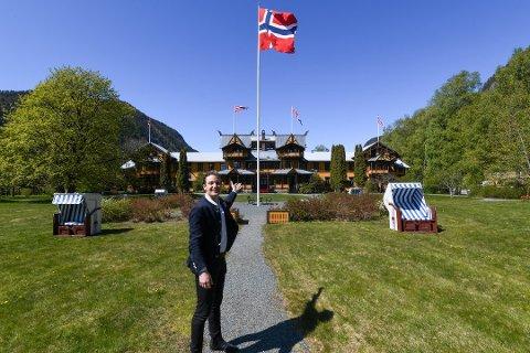 Administrerende direktør ved Dalen hotel, Thor Filip Thorsen, er fornøyd med sesongen.
