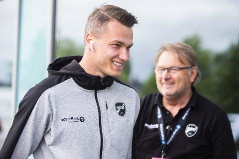 Ny kontrakt: Odin Bjørtufts gode sesong har blitt belønnet med en ny kontrakt.