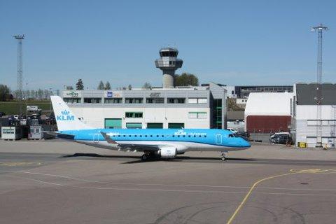 KLM Cityhopper, Torp Airport