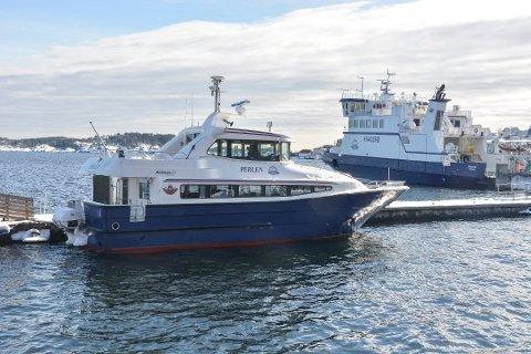 UTFORDRINGER: Fergene i Kragerø gir økonomiske utfordringer.